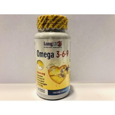 LONGLIFE OMEGA 3-6-9 50PRL