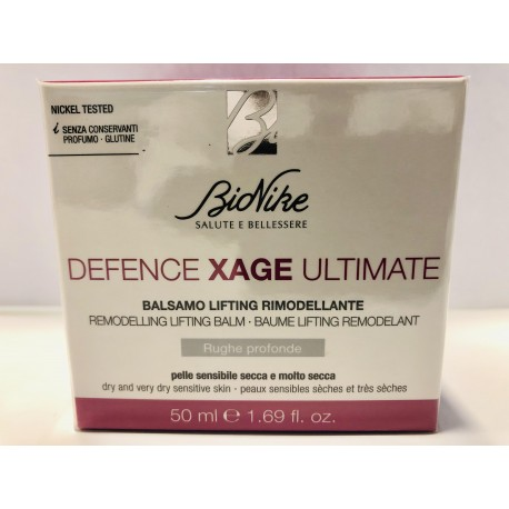 BIONIKE DEFENCE XAGE ULTIMATE BALSAMO LIFTING RIMODELLANTE 50ML