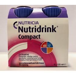 NUTRIDRINK COMPACT FRUTTI DI BOSCO 4X125ML