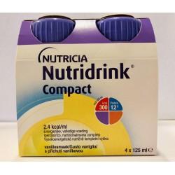 NUTRIDRINK COMPACT VANIGLIA 4X125ML