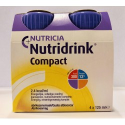 NUTRIDRINK COMPACT ALBICOCCA 4X125ML